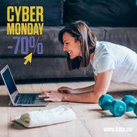 Cyber Monday -70%