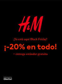 Black Friday ¡-20% en todo!