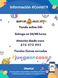 Información Superjuguete #Covid19