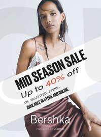 Mid Season Sale. Hasta -40%