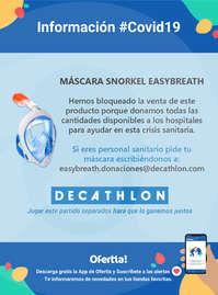 Información Decathlon #Covid19