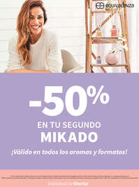 -50% en tu segundo Mikado