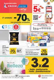 - 2ª unidade -70% nos produtos sinalados -