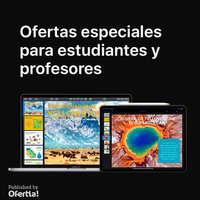 Ofertas especiales para estudiantes y profesores