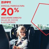 Especial puericultura. 20% dto directo en sillas de  coche y accesorios