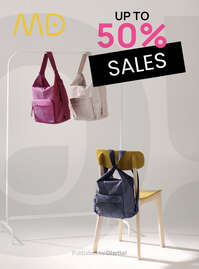 Sales up to 50%