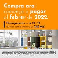 Compra ara i comença a pagar a febrer de 2022! 😉