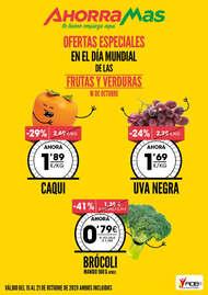 Ofertas especiales en el día mundial de frutas y verduras