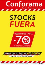 ¡Aprovecha la liquidación de stock de Conforama!