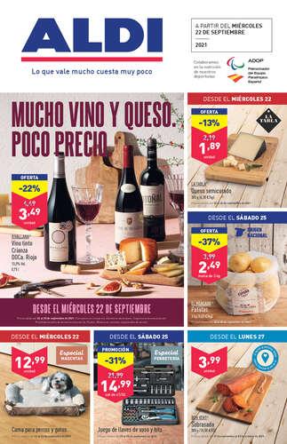 Mucho vino y queso. Poco precio- Page 1