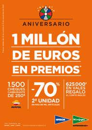 Un millón de euros en premios