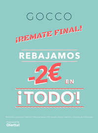 ¡Remate final!