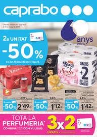 2a Unitat -50% en els productes senyalats