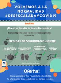 ¡Nuestras tiendas te dan la bienvenida! #Desescalada
