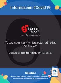 Información Forum sport #Covid19