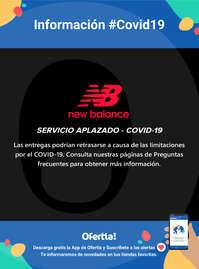 Información New Balance #Covid19