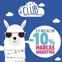 -10% marcas Juguettos