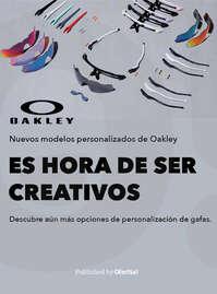 Nuevos modelos personalizados de Oakley