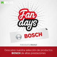 Fan days de Bosch