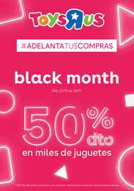 Black Month. 50% dto en miles de juguetes