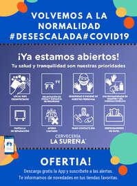 ¡Ya estamos abiertos! #Desescalada #Covid19