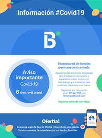 Información Barceló Viajes #Covid19