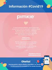 Información Pimkie #Covid19