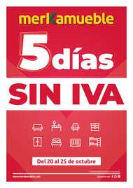 5 días sin IVA
