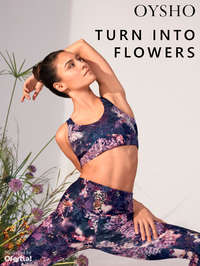 Turn into flowers