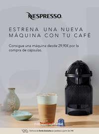 Estrena una nueva máquina con tu café