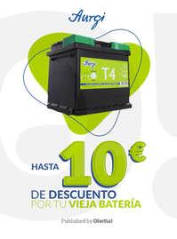 Hasta 10€ de descuento por tu vieja batería