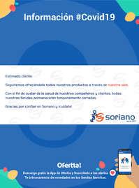 Información Bricolaje Soriano #Covid19
