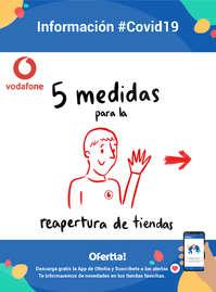 Reapertura de tiendas Vodafone #Covid19