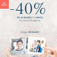 -40% en albumes