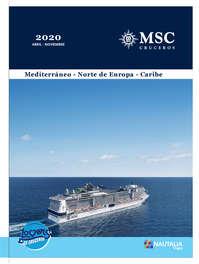 MSC Cruceros 2020