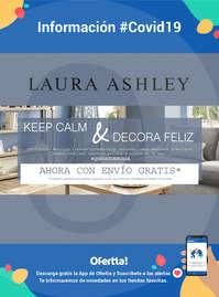 Información Laura Ashley #Covid19