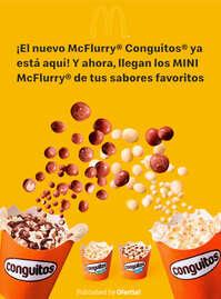 ¡El nuevo Mc FlurryConguitos ya está aquí!