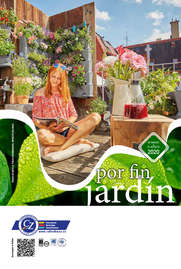 Por fin, jardín