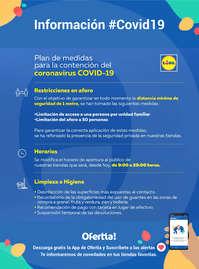 Plan de medidas Lidl #Covid19