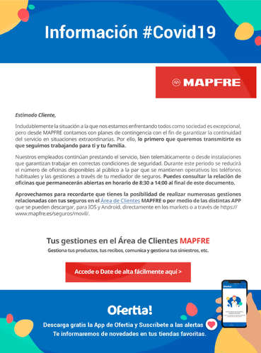 Información Mapfre #Covid19- Page 1