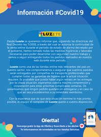 Información Lúzete #covid19
