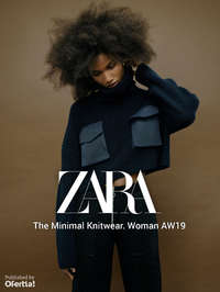 The Minimal Knitwear. Woman AW19