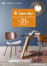 8 Súper días -21% ¡en todo!