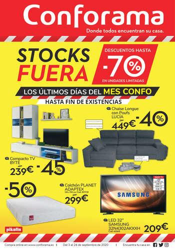 ¡Aprovecha la liquidación de stock de Conforama!- Page 1