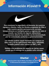 Información Nike #Covid19