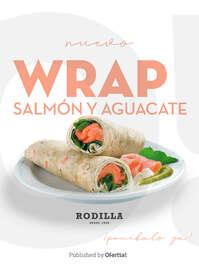 🆕 Nuevo Wrap Salmón y Aguacate 🥑