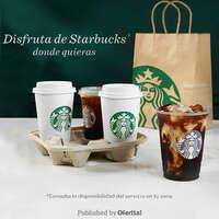 Disfruta de Starbucks donde quieras
