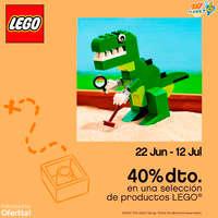 Descuento en productos lego