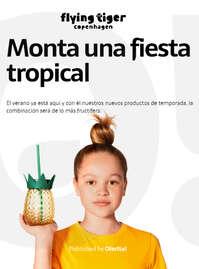 Monta una fiesta tropical 🍍