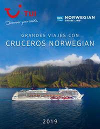 Grandes viajes con cruceros Norwegian